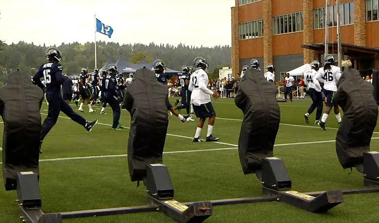 Seahawks open training camp bennett reports super bowl for Bennett motors great falls mt