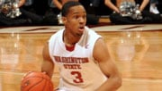 Reggie Moore scored 25 points in the Cougars' loss (Photo: WSU Athletics)