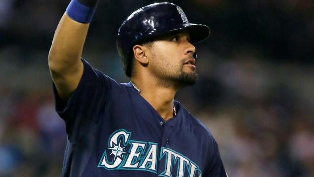 Franklin Gutierrez hit a home run in the 10th to give the Mariners the win. (Photo: Mariners)